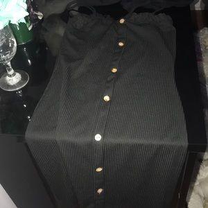 Fit tight black dress